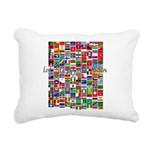 Let the Games Begin Rectangular Canvas Pillow