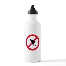 No pooping Water Bottle