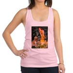 Fairies & Golden Racerback Tank Top