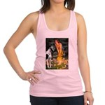 Fairies / Gr Dane (h) Racerback Tank Top