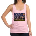 Starry / 4 Great Danes Racerback Tank Top