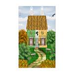 Garden Fiorito/ Spinone Wooden Wall Clock