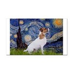 Starry / JRT Rectangle Car Magnet