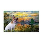 Sunset / JRT Rectangle Car Magnet