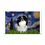Starry/Japanese Chin Rectangle Car Magnet