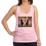 Monet's Garden & Lab Trio Racerback Tank Top