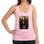 Mona's Black Lab Racerback Tank Top