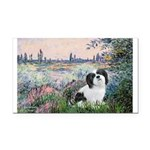 Seine / Lhasa Apso #2 Rectangle Car Magnet