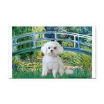Bridge / Maltese Rectangle Car Magnet