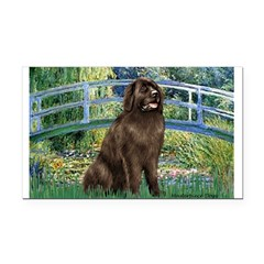 Bridge / Newfoundland Rectangle Car Magnet