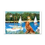 Sailboats / Nova Scotia Rectangle Car Magnet