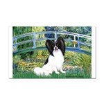 Bridge & Papillon Rectangle Car Magnet