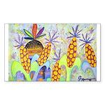 Mona Lia/Std Poodle (silver) 5x7 Flat Cards