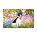 Garden / Rat Terrier Rectangle Car Magnet