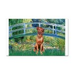 Garden / R Ridgeback Rectangle Car Magnet