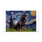 Starry/Rottweiler (#6) Rectangle Car Magnet