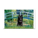 Bridge / Schipperke #4 Rectangle Car Magnet