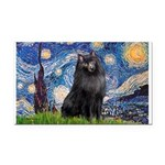 Starry / Schipperke #2 Rectangle Car Magnet