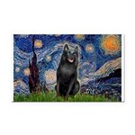 Starry / Schipperke #5 Rectangle Car Magnet