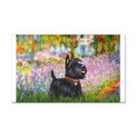 Garden (Monet) - Scotty Rectangle Car Magnet