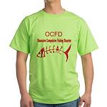 OBSESSIVE COMPULSIVE FISHING DISORDER Green T-Shir