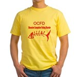 OBSESSIVE COMPULSIVE FISHING DISORDER Yellow T-Shi