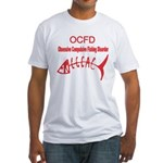 OBSESSIVE COMPULSIVE FISHING DISORDER Fitted T-Shi