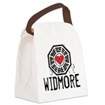 I Heart Widmore - LOST Canvas Lunch Bag