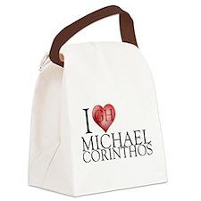 I Heart Michael Corinthos Canvas Lunch Bag