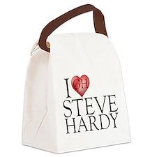 I Heart Steve Hardy Canvas Lunch Bag