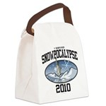 Snowpoocalypse 2010 - NYC Canvas Lunch Bag