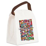 Let the Games Begin Canvas Lunch Bag