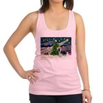 Xmas Magic & Beardie Racerback Tank Top