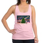 Xmas Magic/German SHP Racerback Tank Top