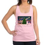 Xmas Magic & Samo Racerback Tank Top