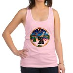 XmasMusic 3/Scottie #12 Racerback Tank Top