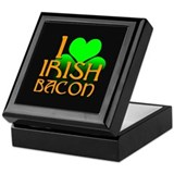I Love Irish Bacon Keepsake Box