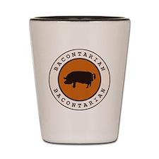 Bacontarian Shot Glass