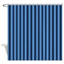 Navy And Cream Stripes Shower Curtains Navy And Cream Stripes Fabric Shower
