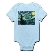 Starry Night Infant Creeper