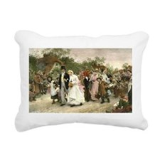 The Village Wedding by Fildes Rectangular Canvas P