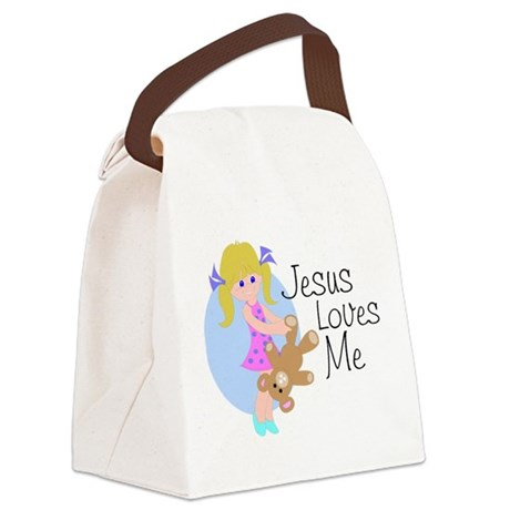 lovesme.png Canvas Lunch Bag