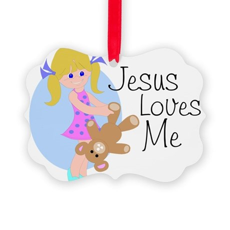 lovesme.png Picture Ornament