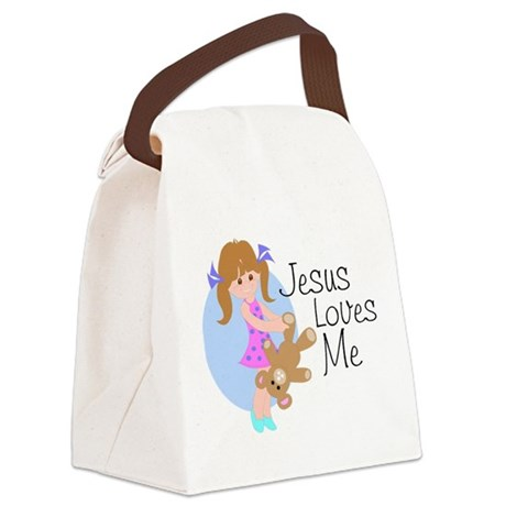 lovesmea.png Canvas Lunch Bag