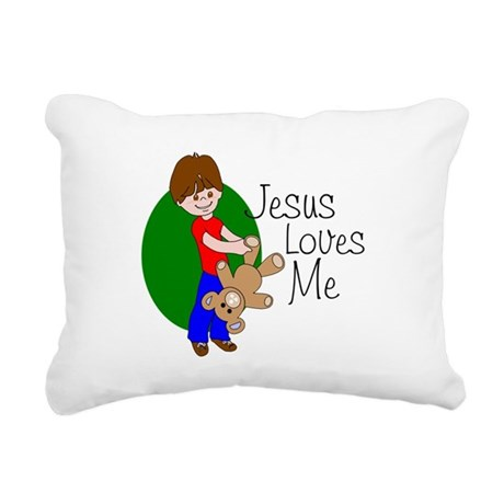 jlma.png Rectangular Canvas Pillow