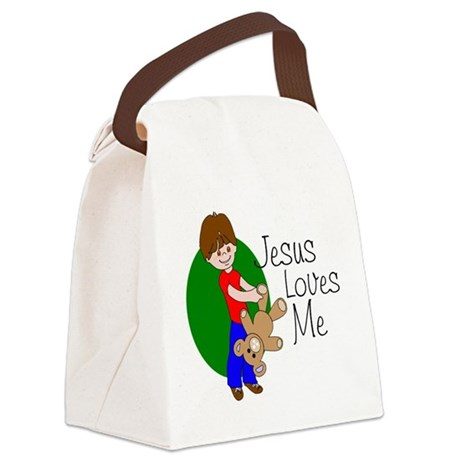 jlma.png Canvas Lunch Bag