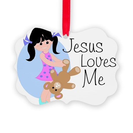 lovesmeab.png Picture Ornament