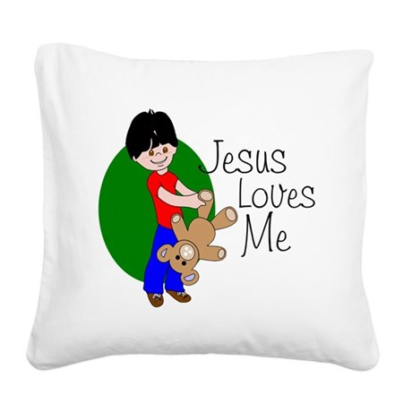 jlmab.png Square Canvas Pillow