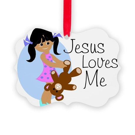 lovesmeabc.png Picture Ornament