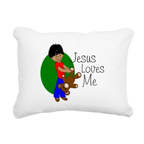 jlmabc.png Rectangular Canvas Pillow